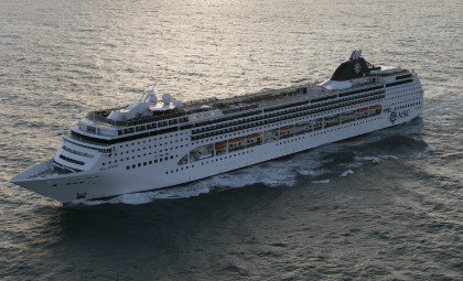 cruiseschip MSC Opera van rederij MSC cruises