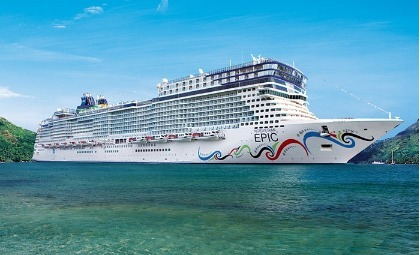 cruiseschip Norwegian Epic van rederij NCL