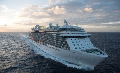 De Royal Princess van rederij Princess Cruises